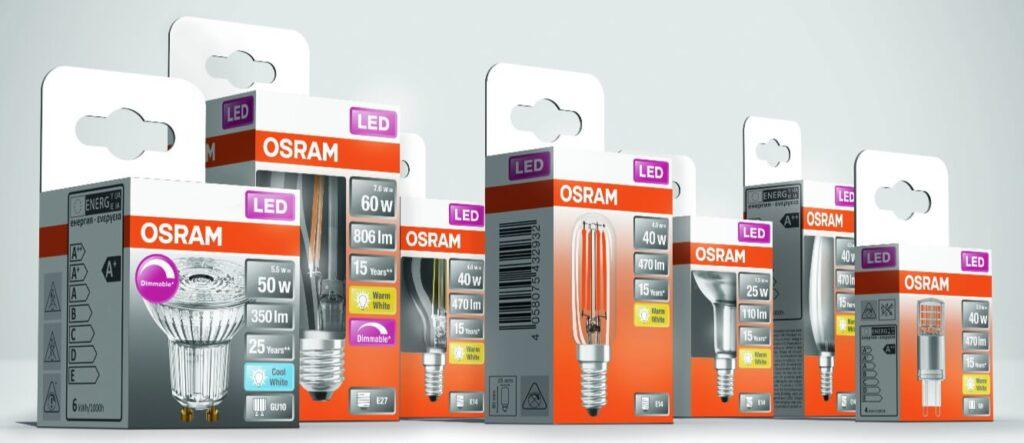 Neue OSRAM LED Lampen