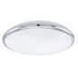 Mobile Preview: Eglo 93496 Manilva LED Wandleuchte / Deckenleuchte 12W Stahl chrom weiss