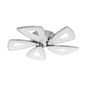 Eglo 95221 Amonde LED Deckenleuchte 5x6W Propeller Chrom
