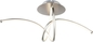 Preview: Globo 67825-30D Kyle LED Deckenleuchte 30W Nickel matt warmweiss