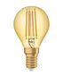 Preview: OSRAM Vintage 1906 E14 Filament LED Lampe 4,5W 420Lm 2500K extra-warmweiss