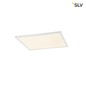Preview: SLV 1001251 VALETO LED PANEL LED Deckeneinbauleuchte 620x620mm UGR19