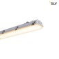 Preview: SLV 1001316 IMPERVA 150 CW LED Outdoor Wand- und Deckenaufbauleuchte IP66 grey 3000K