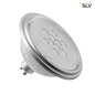 Preview: SLV 1001572 LED Lampe QPAR111 GU10 7W 3000K 40° silber