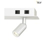 Preview: SLV 1001822 NAPIA TWIN WL LED Indoor Wandaufbauleuchte weiß 3000K