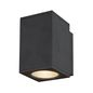 Preview: SLV 1003417 ENOLA SQUARE M single Outdoor LED Wandleuchte anthrazit CCT 3000/4000K IP65