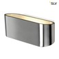 Preview: SLV 151456 OSSA R7s Wandleuchte oval alu brushed R7s 78mm max. 100W up down