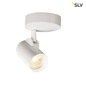 Mobile Preview: SLV 156501 HELIA LED Single Wand- und Deckenleuchte 3000K 35° weiss