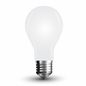 Preview: LED Filament Frosted E27 Lampe 4W 350Lm tageslichtweiss matt