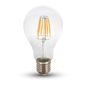 Preview: LED Filament E27 Lampe 8W 800Lm neutralweiss