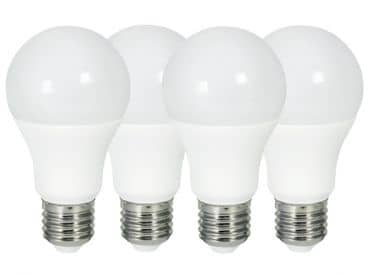 Bioledex 4er-Pack LED Lampe VEO E27 10W 810Lm Warmweiss = 60W Glühlampen