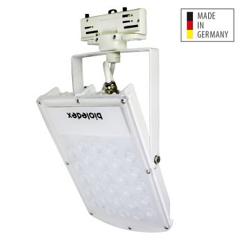 Bioledex 3-Phasen ASTIR LED Fluter 30W 70° 2550Lm 4000K Weiss