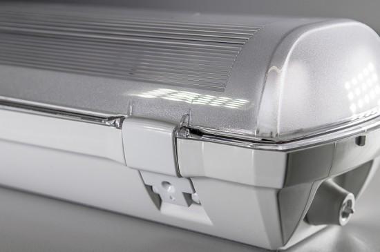 bioledex dolta deckenleuchte 2 fach f r 120cm led leuchtstoffr hre. Black Bedroom Furniture Sets. Home Design Ideas