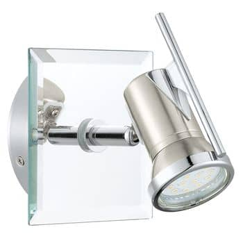 Eglo 31265 Tamara 1 LED Spot 2.5W Stahl nickel-matt chrom