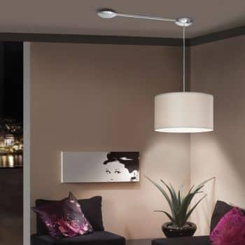eglo 88969 extention verl ngerung zubeh r f r leuchten nickel. Black Bedroom Furniture Sets. Home Design Ideas