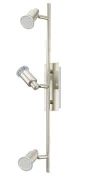 Eglo 90825 Eridan LED Spot 3x5W Stahl nickel-matt