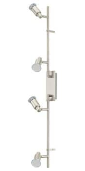 Eglo 90826 Eridan LED Spot 4x5W Stahl nickel-matt