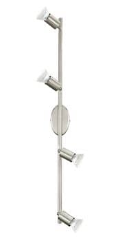 Eglo 92598 Buzz-led LED Deckenstrahler 4x3W Stahl nickel-matt
