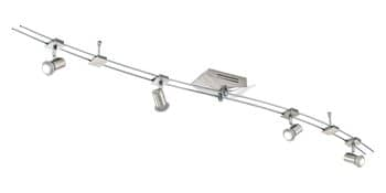 Eglo 93026 Boltana LED System 4x4.5W Stahl nickel-matt chrom