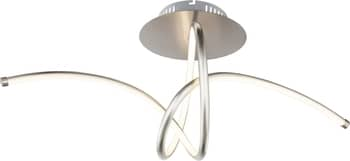 Globo 67825-30D Kyle LED Deckenleuchte 30W Nickel matt warmweiss