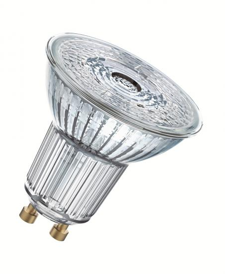 Osram GU10 LED Spot Superstar PAR16 5.5W 350Lm dimmbar warmweiss Glas