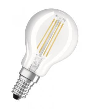 Osram E14 LED Birne Retrofit Filament 4W 430Lm warmweiss