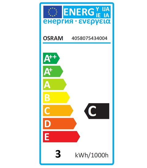 OSRAM STAR Decor E27 LED Birne 2,5W Filament matt/farbig blau wie 15W