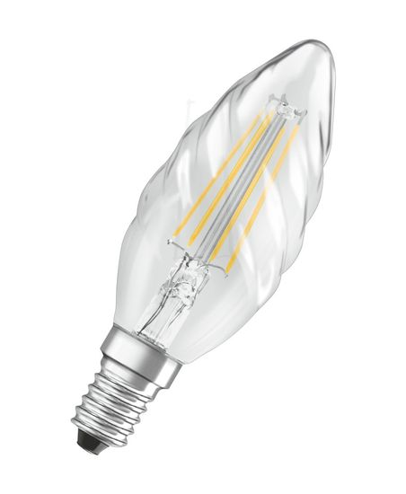 OSRAM Retrofit E14 LED Kerze 4W BW40 Filament klar warmweiss wie 40W