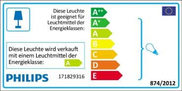 Philips myGarden Shades Aussenleuchte 15W anthrazit up/down 17182/93/16