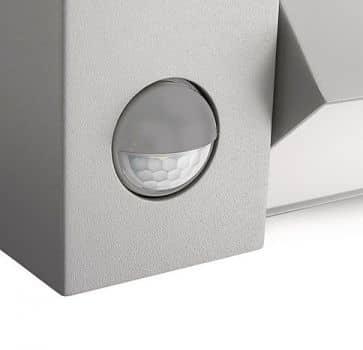 philips es aussenleuchte ecomoods border sensor 23w grau 16943 87 16. Black Bedroom Furniture Sets. Home Design Ideas