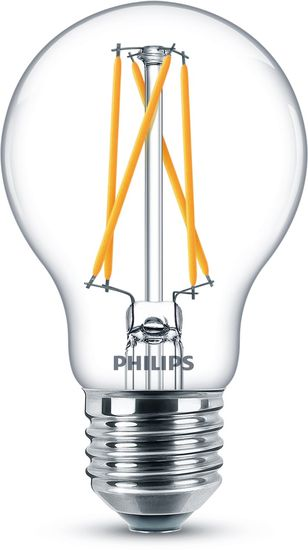 Philips LED Birne Classic 6.7W E27 WarmGlow dimmbar 8718699645861 warmweiss