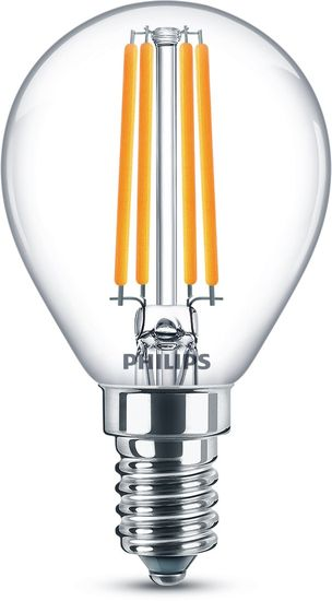 Philips LED COOL WHITE Classic 6.5W neutralweiss E14 806Lm wie 60W 8718699648466