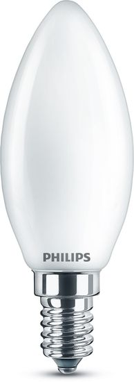 Philips LED Kerze Classic 4.3W warmweiss E14 8718699763398