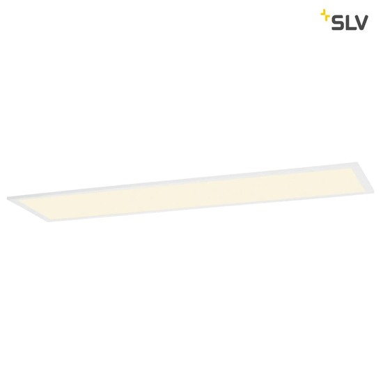 SLV 158723 I-PENDANT PRO LED Panel Pendelleuchte 1195x295mm mattweiss 230V 3000K