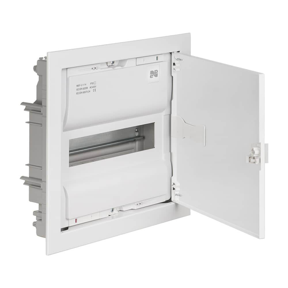 sicherungskasten verteilerkasten 14 module unterputz ip30. Black Bedroom Furniture Sets. Home Design Ideas