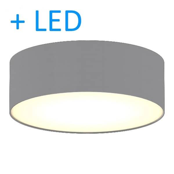 ranex deckenleuchte ceiling dream 30cm grau 2x led lampen. Black Bedroom Furniture Sets. Home Design Ideas