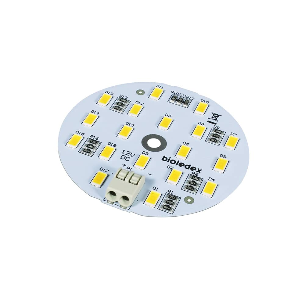 Bioledex led modul 60mm 12vdc 9w 900lm 5000k online kaufen for Lampen 5000 kelvin