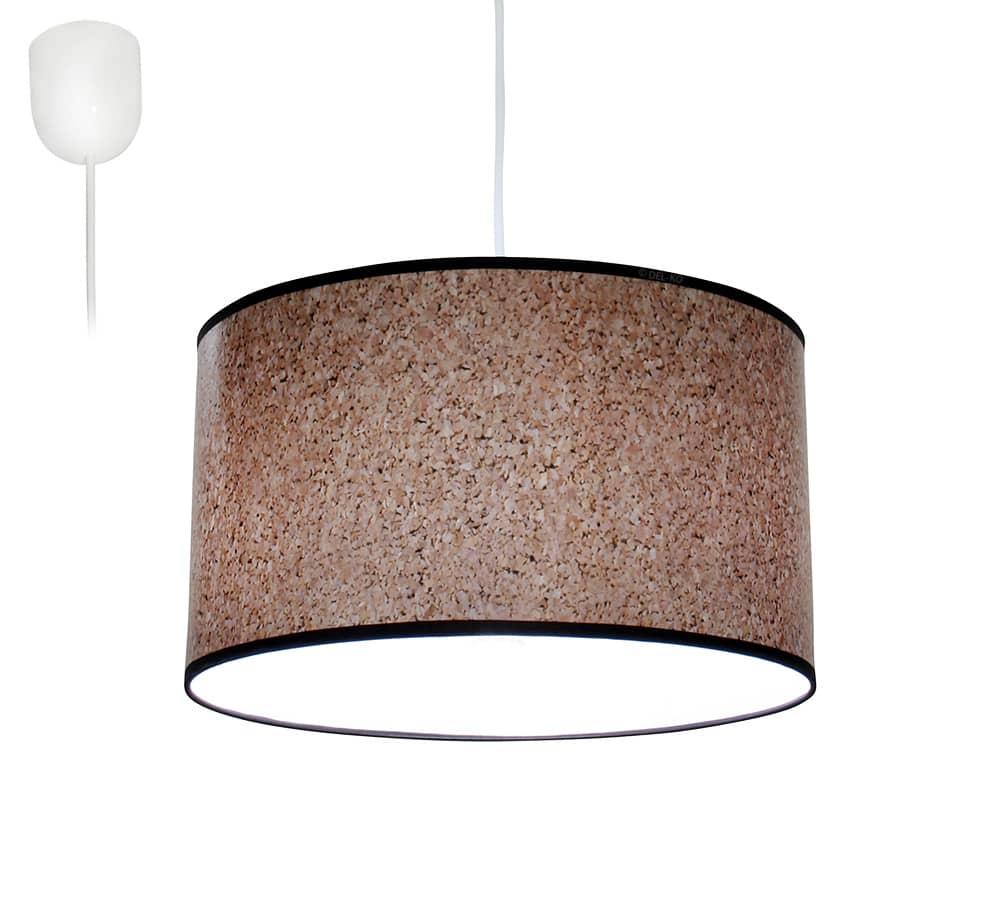 bioledex aniso pendelleuchte kork design e27 35cm l110916. Black Bedroom Furniture Sets. Home Design Ideas