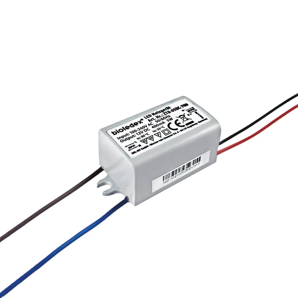bioledex 5w 12v dc transformer for led lamps ip65 waterproof power supply ebay. Black Bedroom Furniture Sets. Home Design Ideas