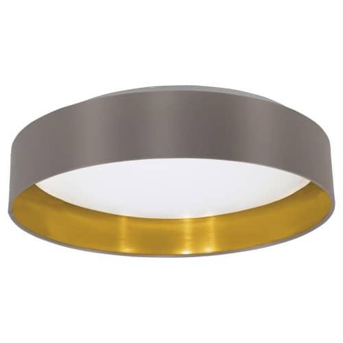 Eglo LED Deckenleuchte Maserlo Cappuccino Gold 31625