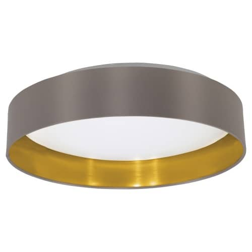 eglo led deckenleuchte maserlo cappuccino gold 31625. Black Bedroom Furniture Sets. Home Design Ideas