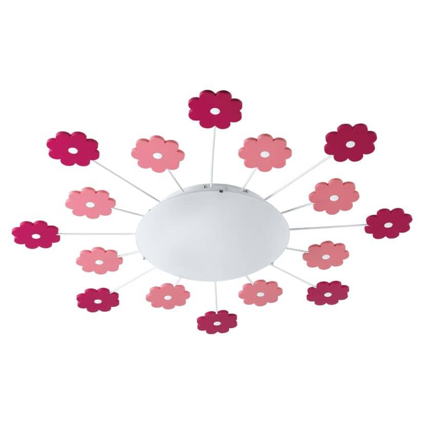 eglo deckenleuchte viki1 f r kinderzimmer e27 pink rot online kaufen. Black Bedroom Furniture Sets. Home Design Ideas