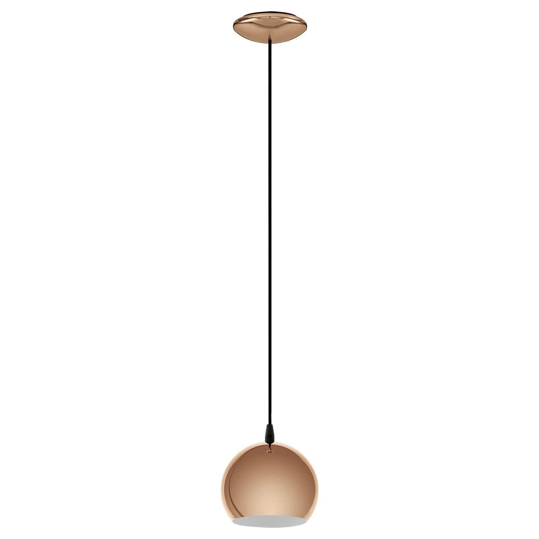 eglo 95838 petto led h ngeleuchte 4w stahl kupfer online kaufen. Black Bedroom Furniture Sets. Home Design Ideas