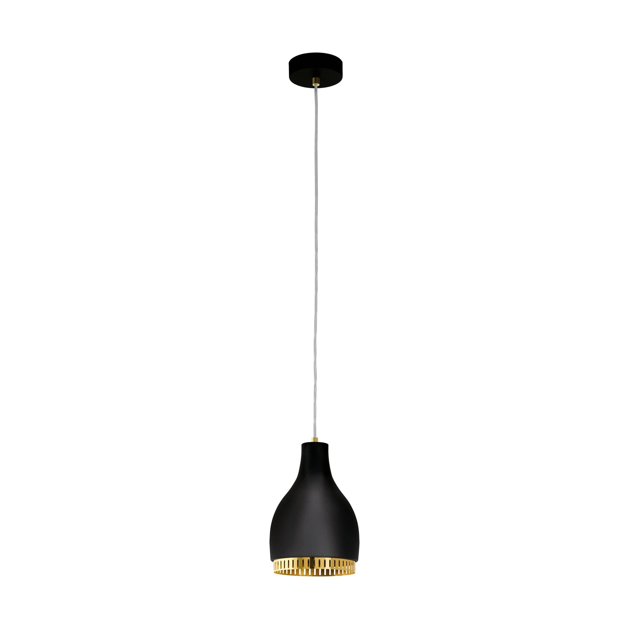 eglo 96872 cocno h ngeleuchte e27 schwarz gold. Black Bedroom Furniture Sets. Home Design Ideas