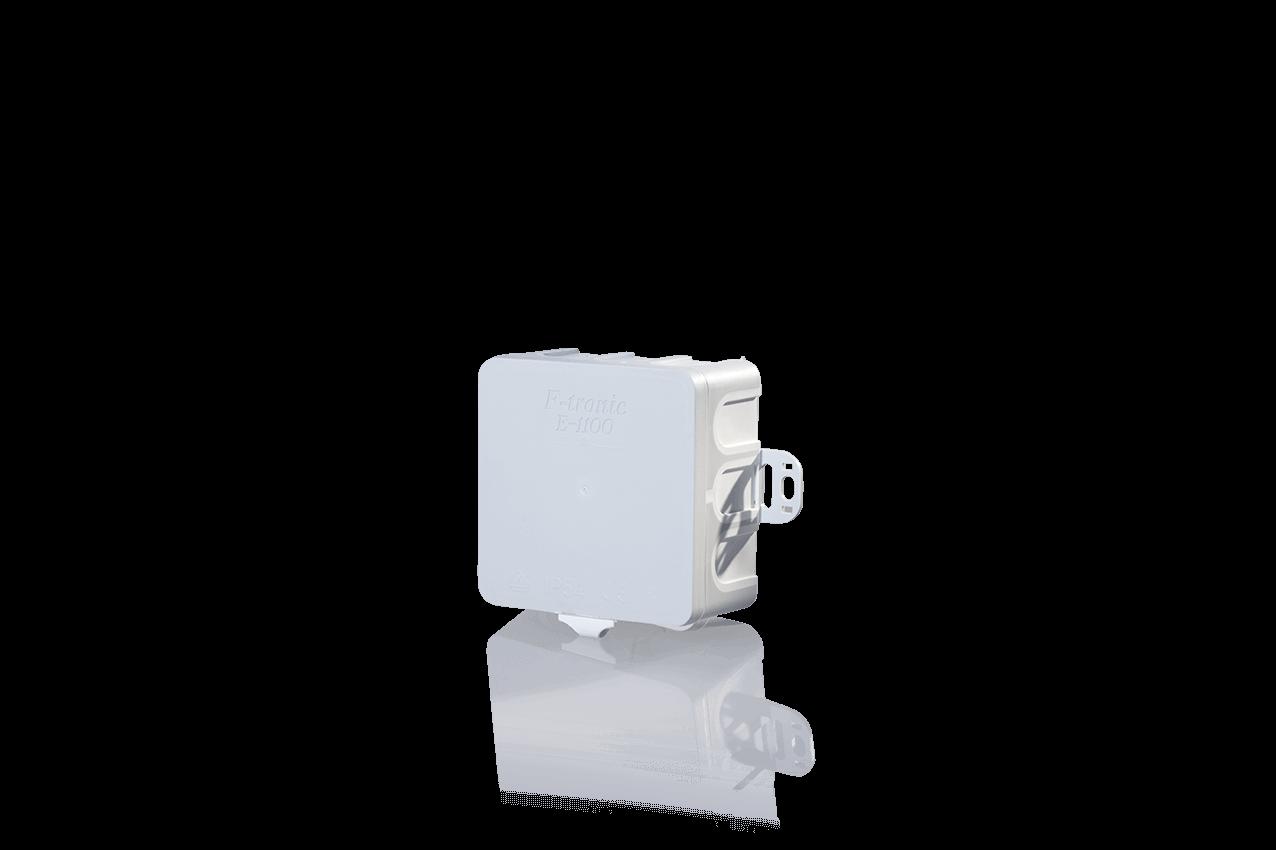 Feuchtraum Abzweigkasten IP54 mit Durchstoßmembran Aufputz Abzweigdose grau