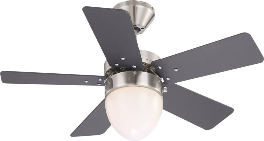 Deckenventilator Mit Beleuchtung Hornbach : ... » Globo Marva Deckenventilator mit Beleuchtung Ø76cm Graphit 0332