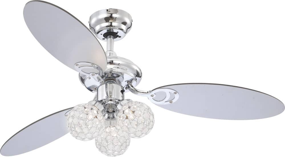 globo azalea deckenventilator inkl beleuchtung 105cm. Black Bedroom Furniture Sets. Home Design Ideas