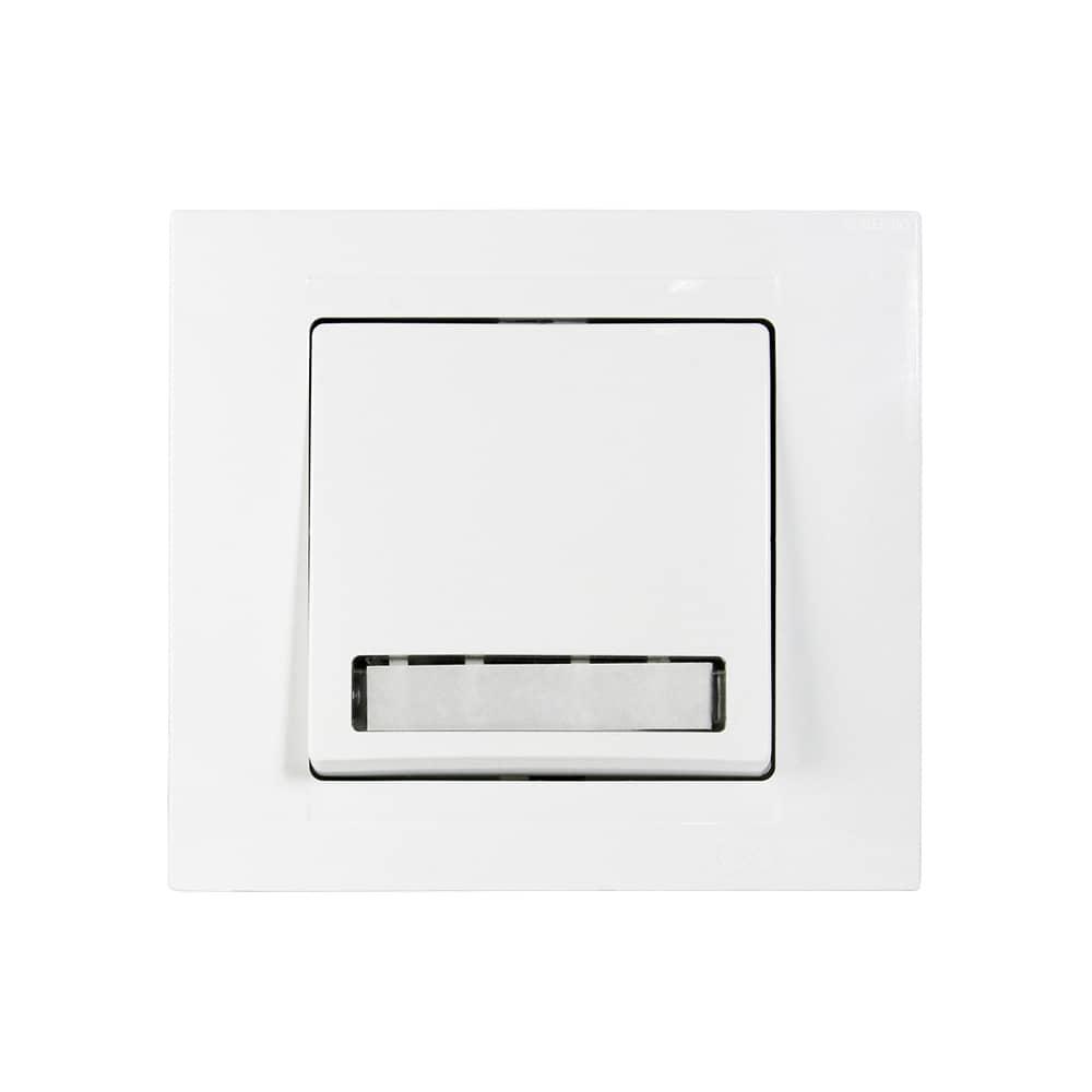 gunsan moderna klingeltaster mit namensschild unterputz hier kaufen. Black Bedroom Furniture Sets. Home Design Ideas