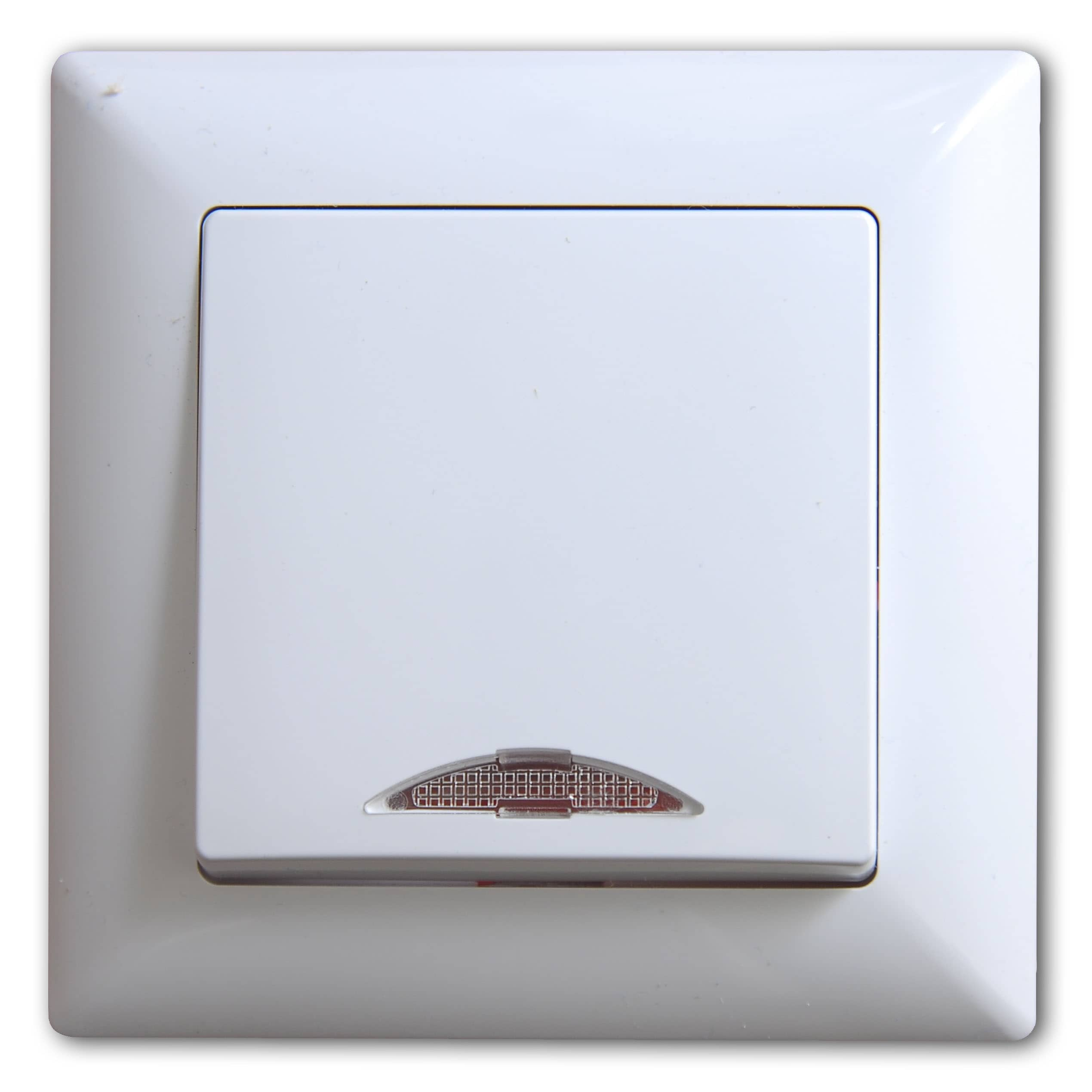 Gunsan Visage Schalter Ein-/Ausschalter mit Beleuchtung Weiss