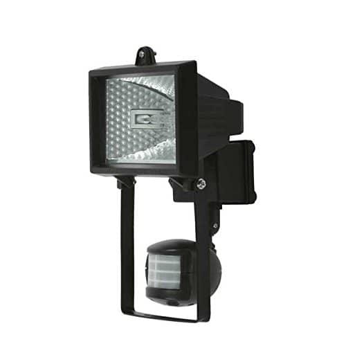 kanlux aussenstrahler mit bewegungsmelder schwarz f r 118mm r7s lampen ebay. Black Bedroom Furniture Sets. Home Design Ideas